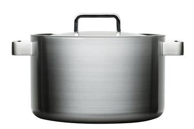 Iittala, Tools Casserole with Lid, 8.5 Quart, Brushed Stainless Steel- Placewares