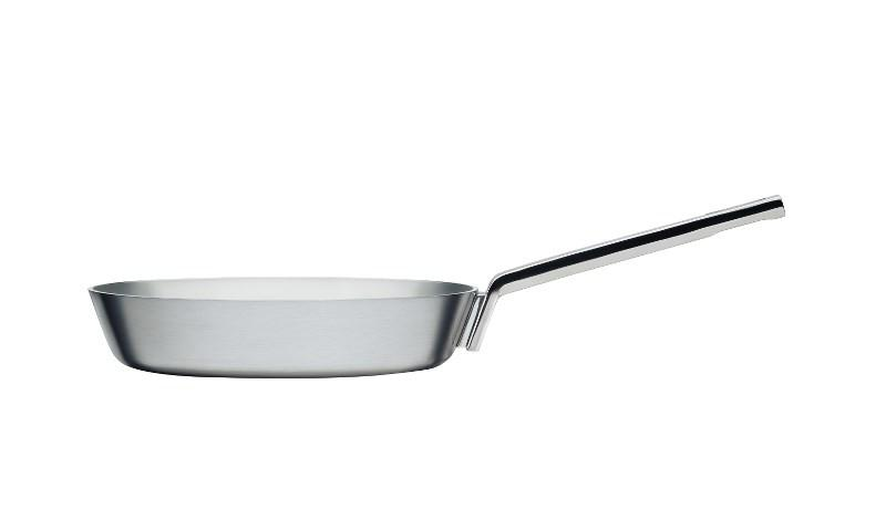 Iittala, Tools Frying Pan, Small, Brushed Stainless Steel- Placewares