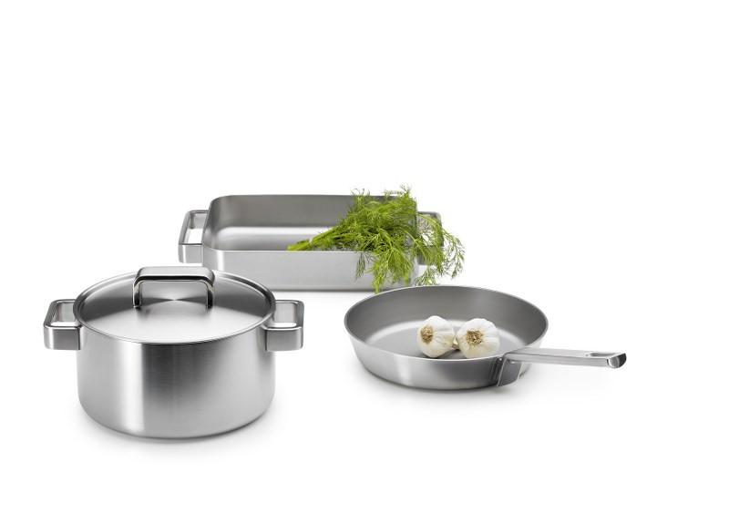 Iittala, Tools Sauté Pan, Brushed Stainless Steel- Placewares