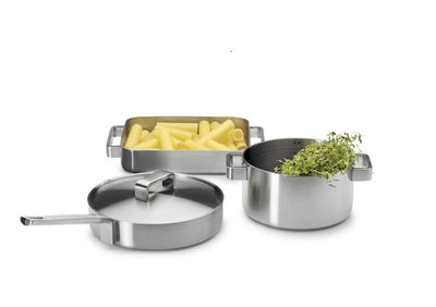 Iittala, Tools Casserole with Lid, 3 Quarts, - Placewares