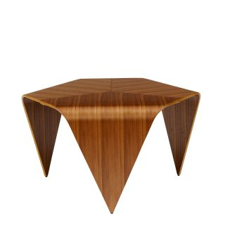 Artek, Trienna Table, Legs and top: walnut, clear lacquer- Placewares