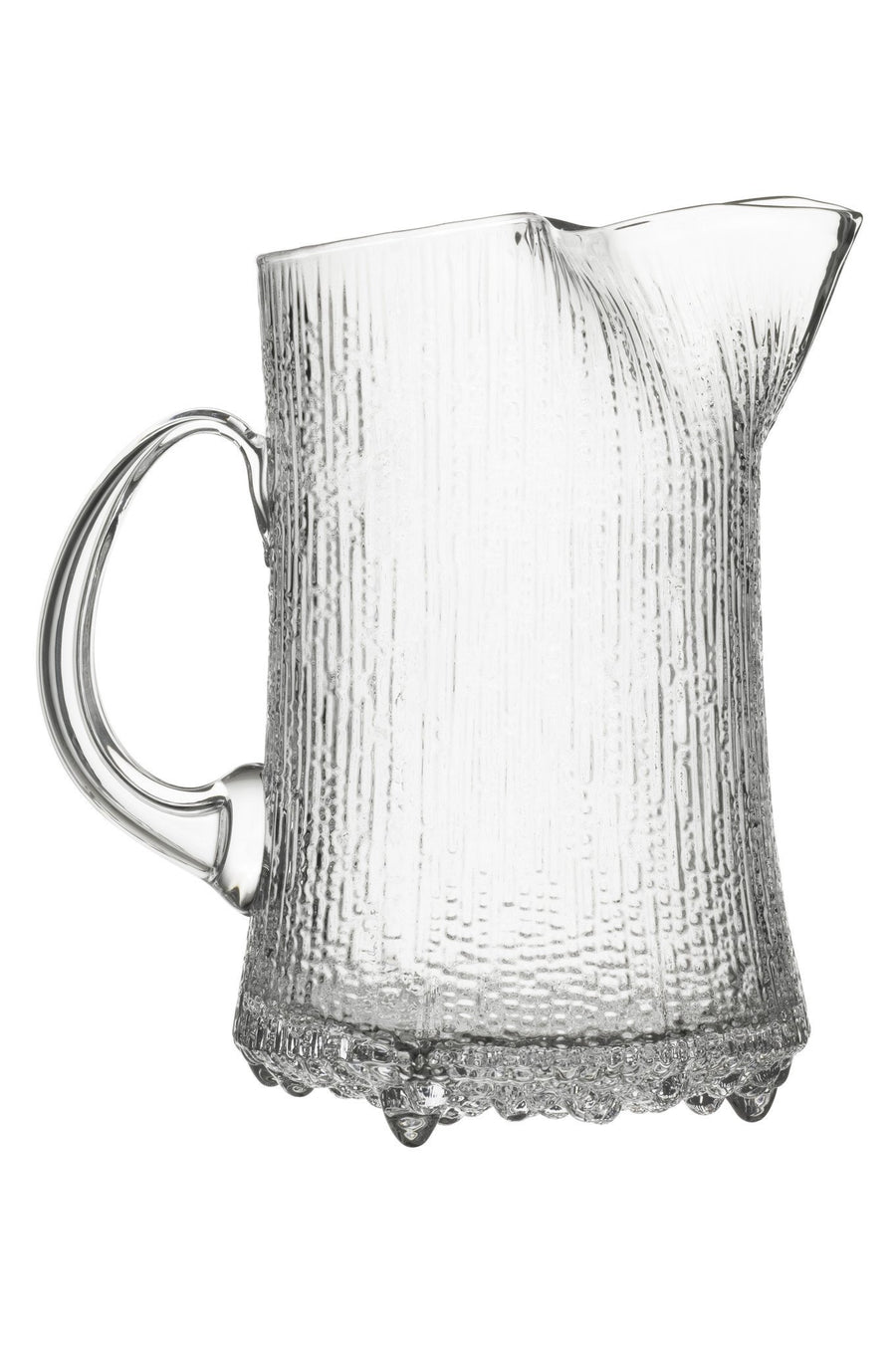 Iittala, Ultima Thule Pitcher with Ice Lip, Clear- Placewares