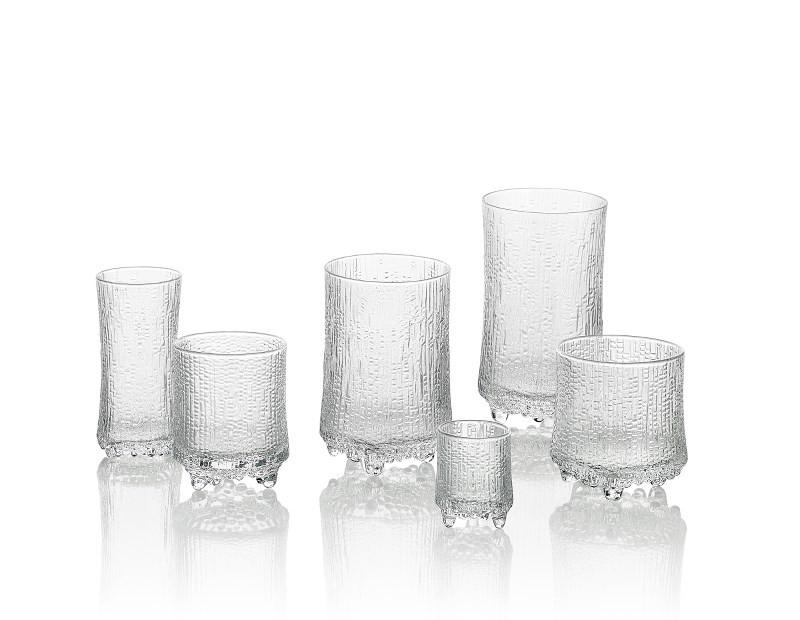 Iittala, Ultima Thule Red Wine, Set/2, Clear- Placewares