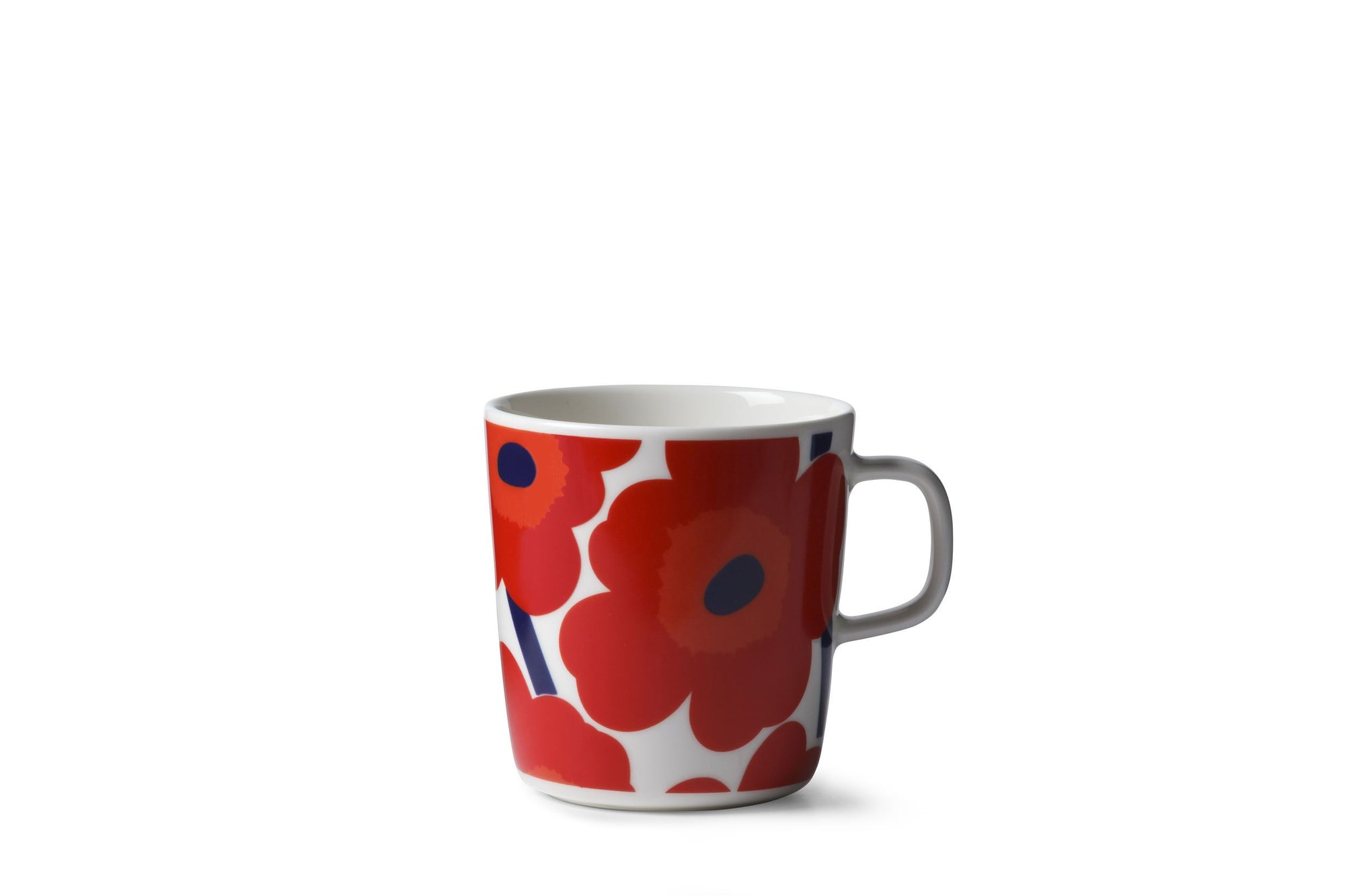 Marimekko, Unikko Large Mug, White/Red- Placewares