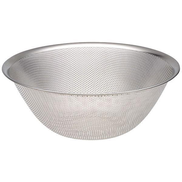Sori Yanagi, Stainless Steel Punch Pressed Strainer - 11 in, - Placewares