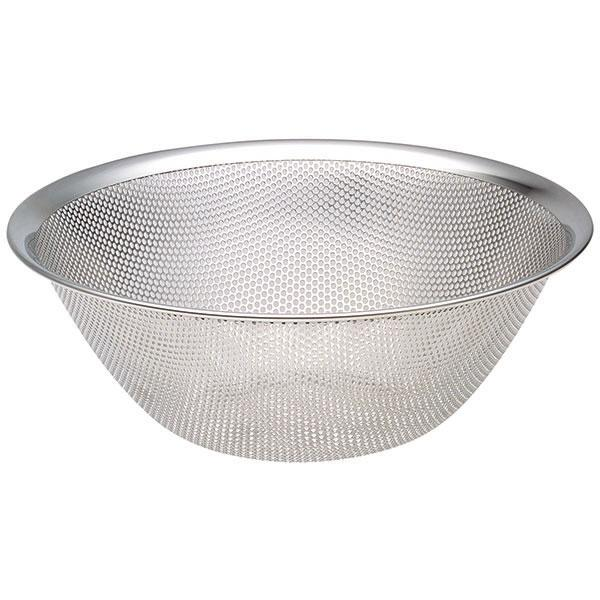 Sori Yanagi, Stainless Steel Punch Pressed Strainer - 9 1/2 in, - Placewares
