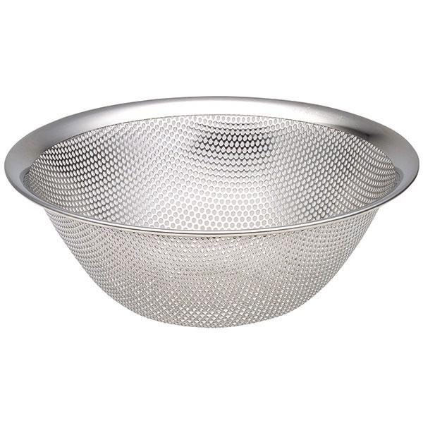 Sori Yanagi, Stainless Steel Punch Pressed Strainer - 7 1/2 in, - Placewares