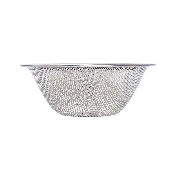 Sori Yanagi, Stainless Steel Punch Pressed Strainer - 6 1/2 in, - Placewares
