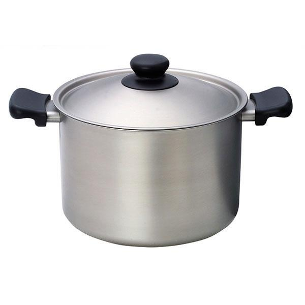Sori Yanagi, Stainless Steel Deep Pot with Lid, - Placewares