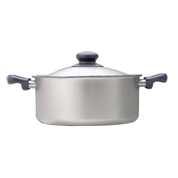 Sori Yanagi, Stainless Steel Shallow Pot with Lid, - Placewares
