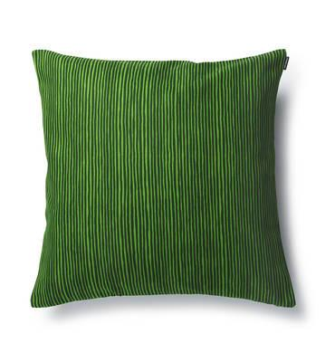 Marimekko, Varvunraita Upholstery Cushion Cover, Green/Dark Green- Placewares