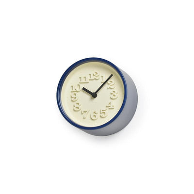 Lemnos, Chiisana Tokei Small Clock - multiple colors, Dark Blue- Placewares