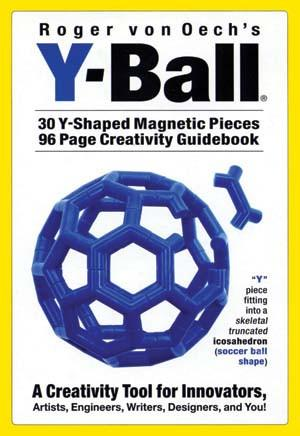 Creative Whack, Roger Von Oech's Y-Ball, a Creativity Toy, - Placewares