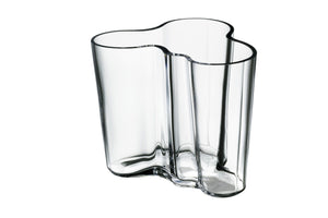 "Iittala, Alvar Aalto Collection 1936 vase - 4.68 x 4 x 3.75"", Clear- Placewares"