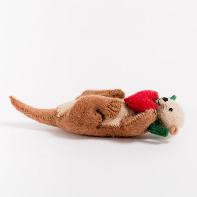 Craftspring, Otter Love Ornament, - Placewares