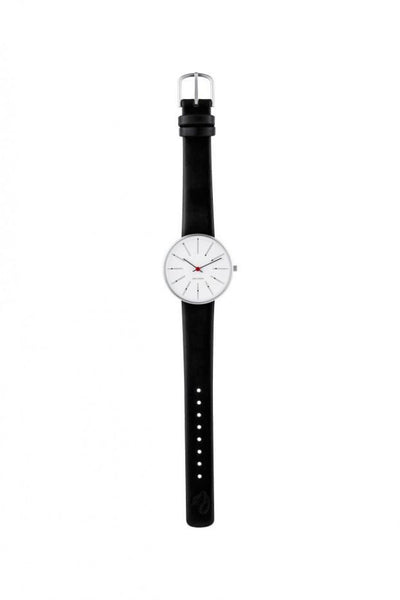 Arne Jacobsen, Arne Jacobsen Banker's 34mm Wrist Watch, - Placewares