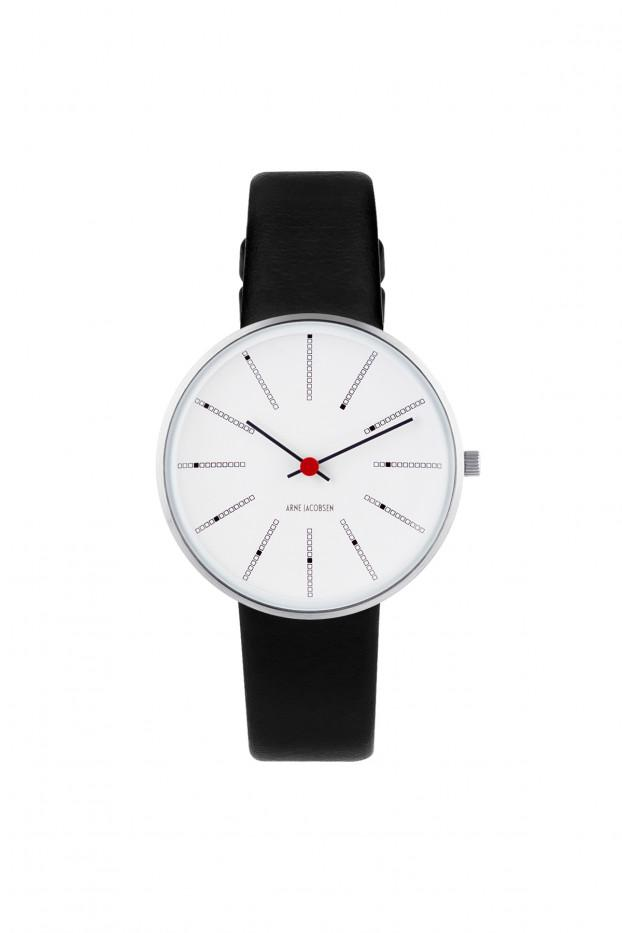 Arne Jacobsen, Arne Jacobsen Banker's 34mm Wrist Watch, 34 mm- Placewares