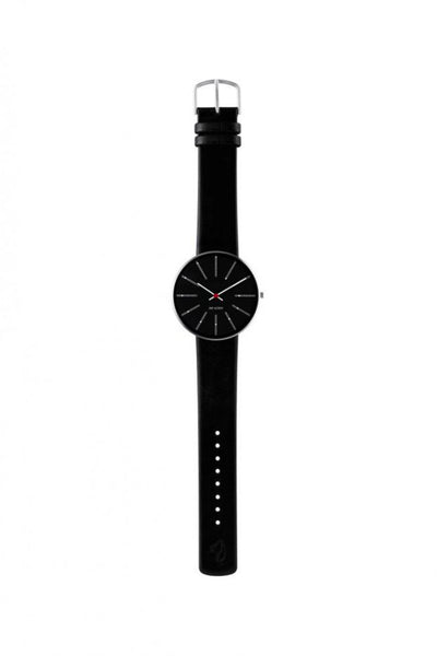 Arne Jacobsen, Arne Jacobsen Banker's 40mm Wrist Watch, - Placewares