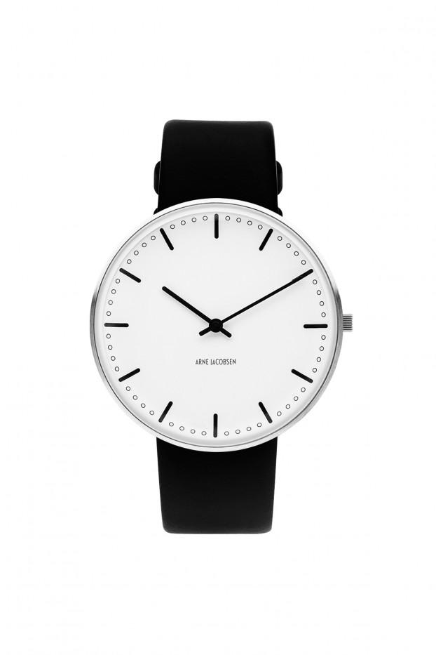Arne Jacobsen, Arne Jacobsen City Hall 40mm Wrist Watch, 40 mm- Placewares