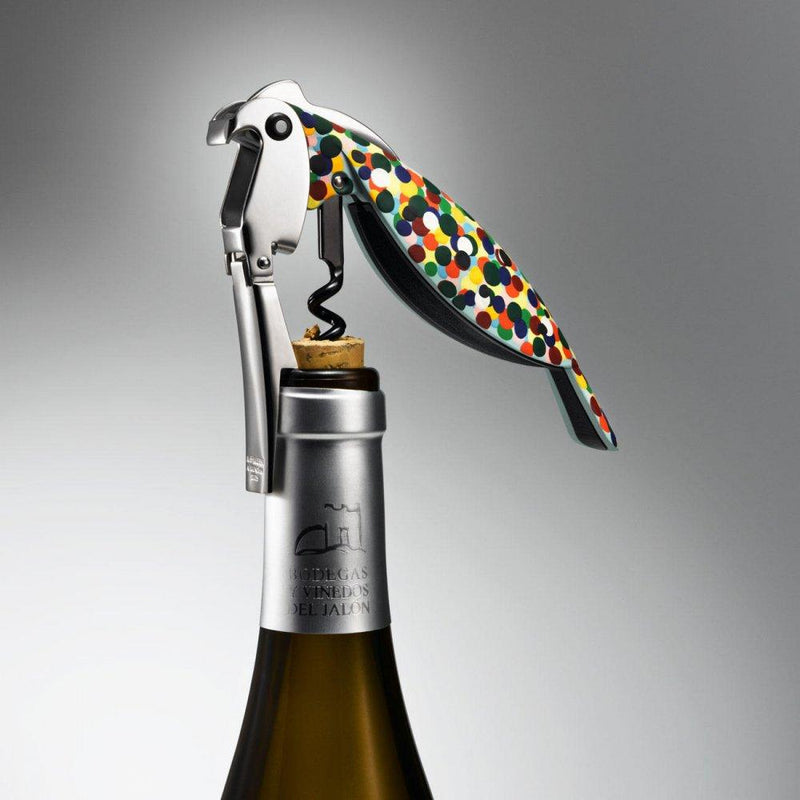 Alessi, Parrot Bottle Opener and Corkscrew, - Placewares