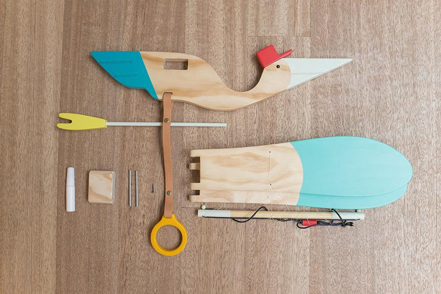 Eguchi, Baby Bird Mobile, - Placewares