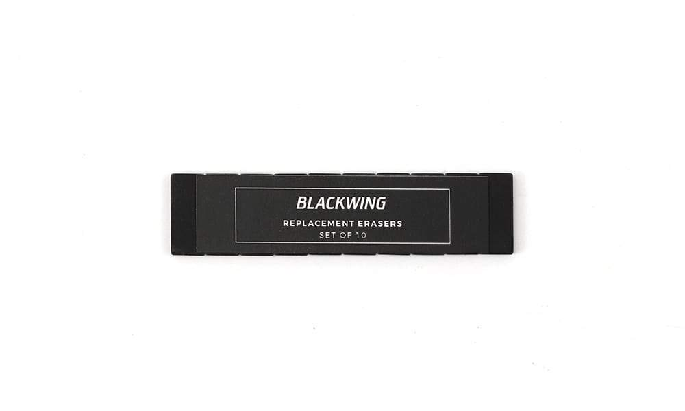 Blackwing, Blackwing Replacement Erasers - Classic Colors, Black- Placewares