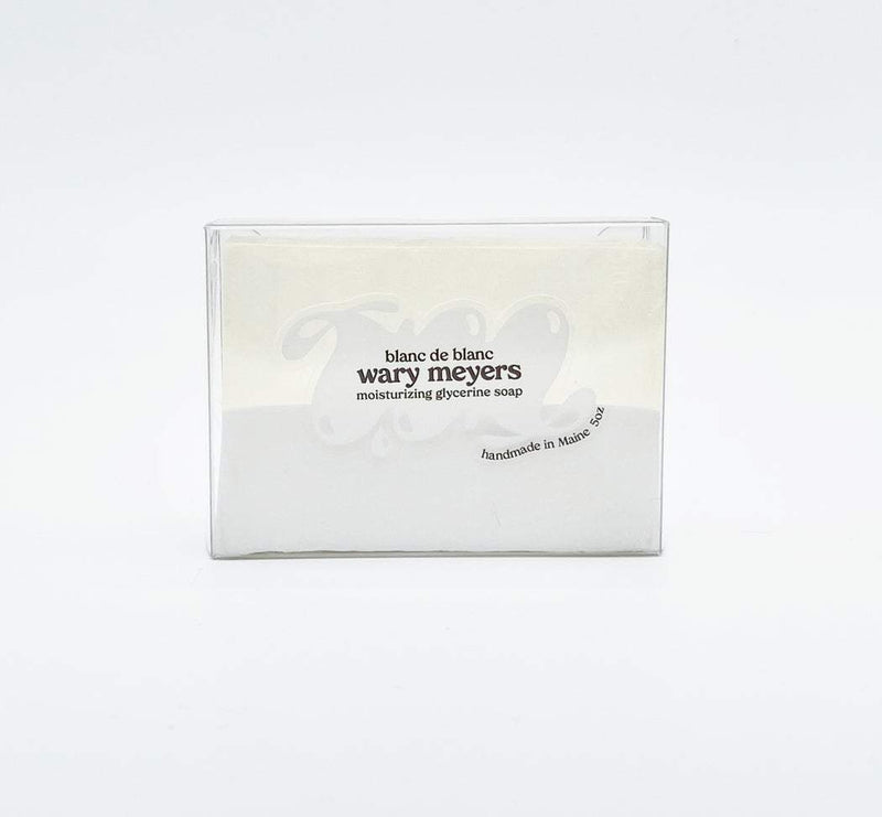 Wary Meyers, Blanc de Blanc Soap, - Placewares