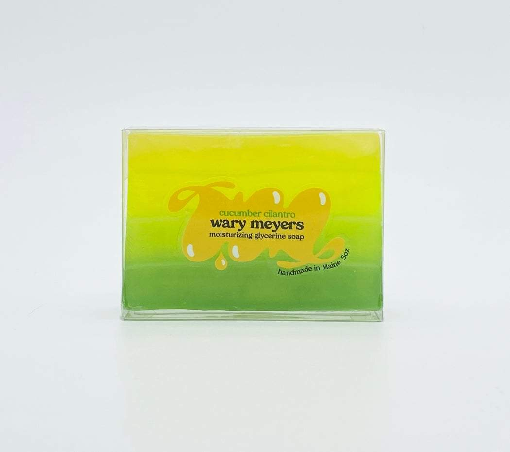 Wary Meyers, Cucumber & Cilantro Soap, - Placewares
