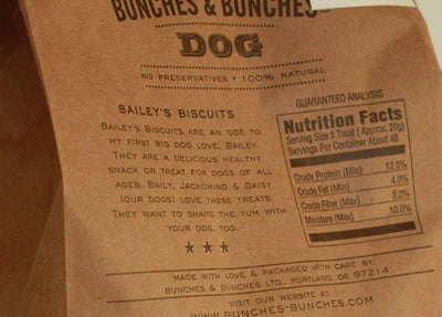 Bunches & Bunches, Bailey's Dog Biscuits, - Placewares