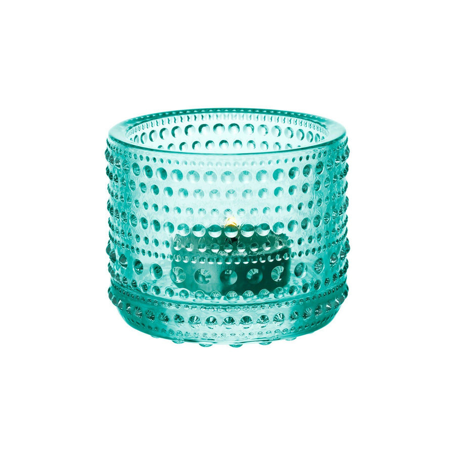 Iittala, Kastehelmi Votive Candleholder - multiple colors, Clear- Placewares