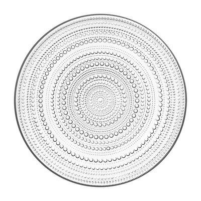 Iittala, Kastehelmi Dinner Plate, assorted colors, Clear- Placewares