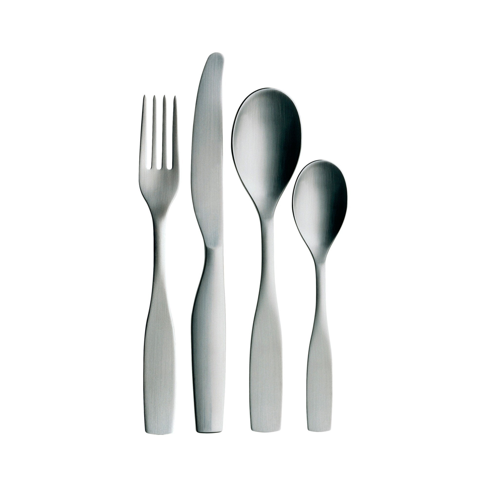 Iittala, Citterio 98 16-Piece Place Setting, Brushed Stainless Steel- Placewares