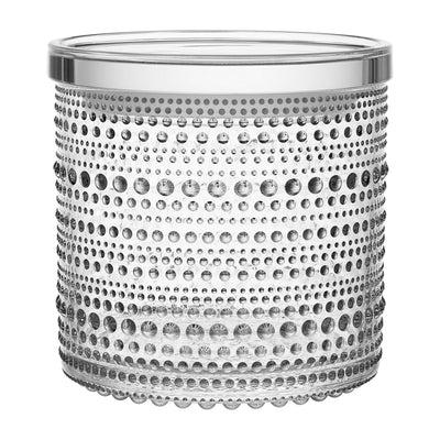 Iittala, Kastehelmi Jar, Large, Clear- Placewares
