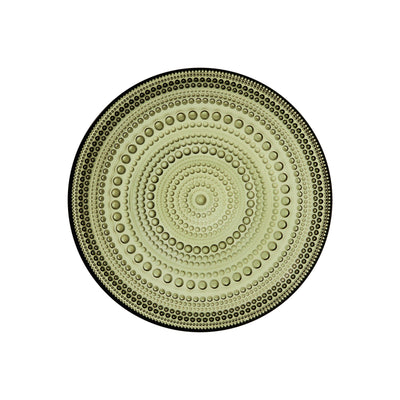 Iittala, Kastehelmi  Bread/Desert Plate, assorted colors, Moss Green- Placewares
