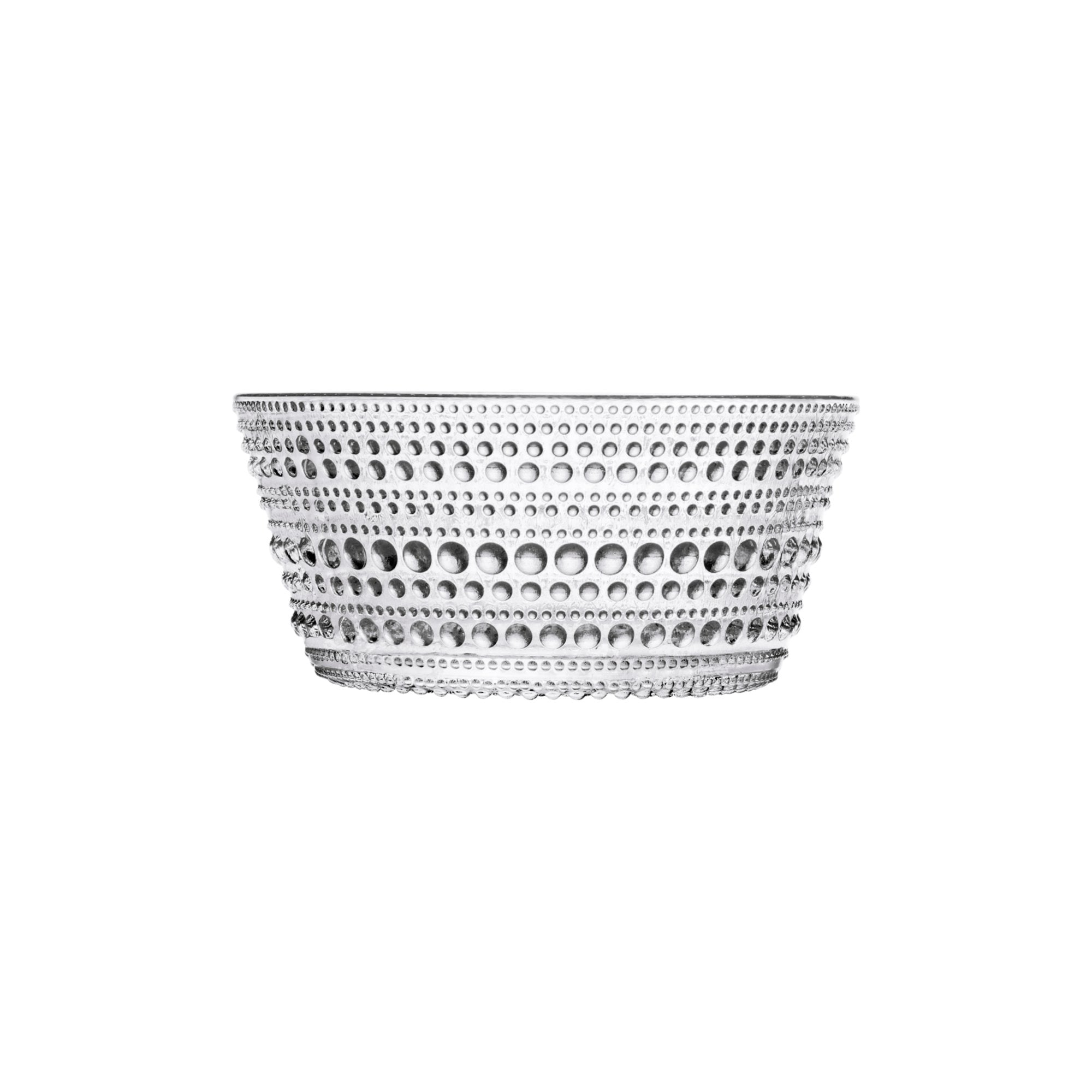 Iittala, Kastehelmi Bowl, assorted colors, Clear- Placewares