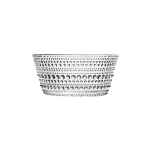 Iittala, Kastehelmi Bowl - multiple colors, Clear- Placewares