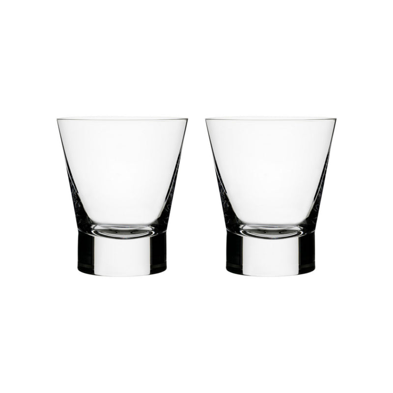 Iittala, Aarne Double Old Fashion Glasses, Set of 2, - Placewares