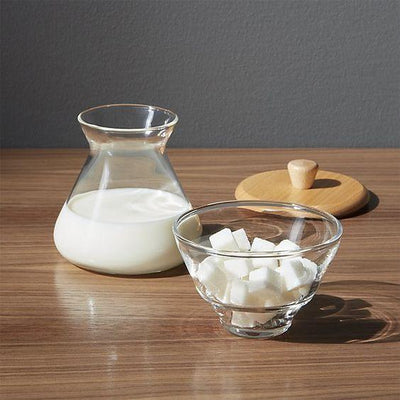Chemex, Handblown Cream & Sugar Set, - Placewares