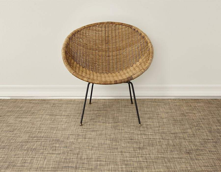 "Chilewich, Basketweave Woven Floor Mats, Bark / Small (24 x 36"")- Placewares"