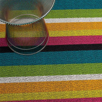 Chilewich, Bold Stripe Shag Big Mat - multiple colors, Multi- Placewares