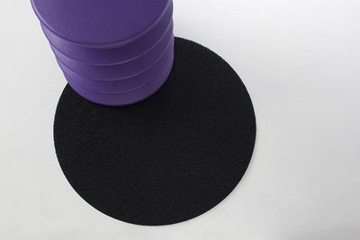 "Chilewich, Dot shag round mat, 24"" diameter - multiple colors, Black- Placewares"
