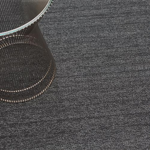 Chilewich, Heathered Shag, Utility Mat - multiple colors, Black/Tan- Placewares