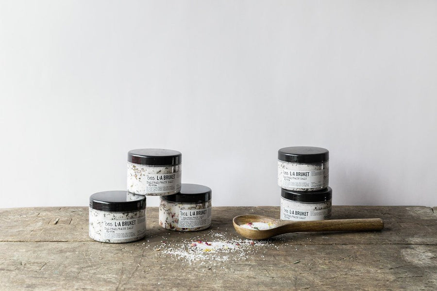 L:A Bruket, Bath Salt, Mint, - Placewares