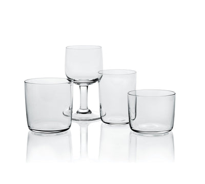 Alessi, Red Wine - Jasper Morrison's Glass Family, Set/4, - Placewares