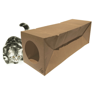Dezi & Roo, Hide and Sneak Unique Cat Toy Tunnel - The Original, - Placewares