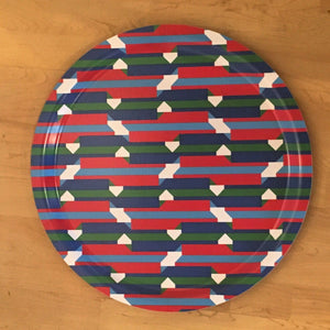 Jim Isermann @ Placewares, Round Tray, Pattern 3 - Jim Isermann @ Placewares, - Placewares