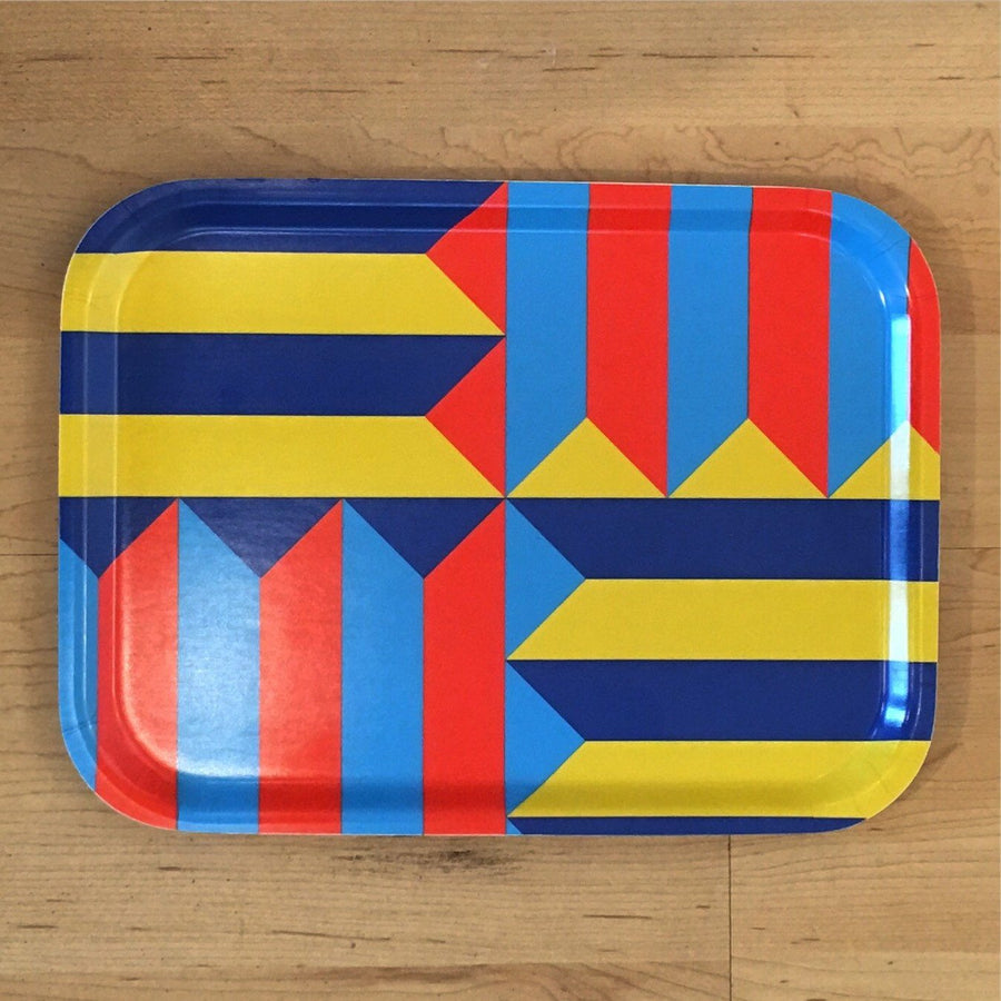 Jim Isermann @ Placewares, Small Tray, Pattern 4 - Jim Isermann @ Placewares, - Placewares