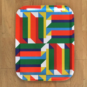 Jim Isermann @ Placewares, Medium Tray, Pattern 2 - Jim Isermann @ Placewares, - Placewares