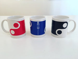Jim Isermann @ Placewares, Mug, Black, Pattern 5 - Jim Isermann @ Placewares, - Placewares