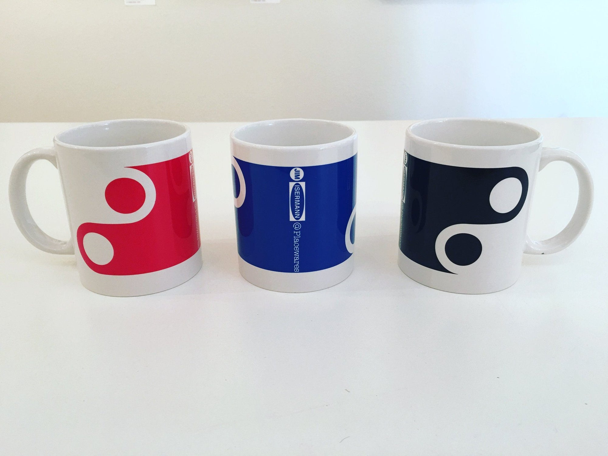 Jim Isermann @ Placewares, Mug, Blue, Pattern 5 - Jim Isermann @ Placewares, - Placewares